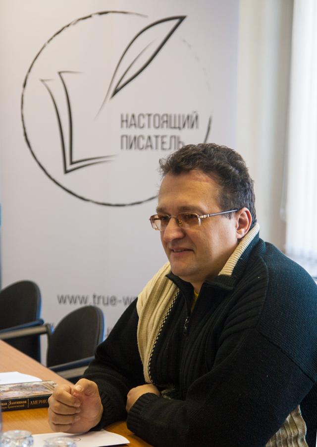 На фото: Игорь Гринчевский, писатель